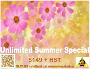 Unlimited Summer Special 2013